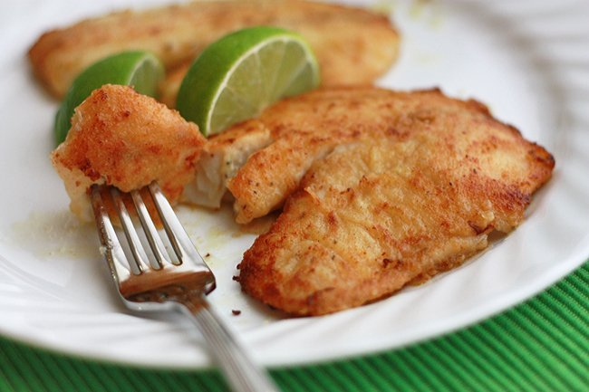 Honey Lime Tilapia Healthy Seafood Recipe