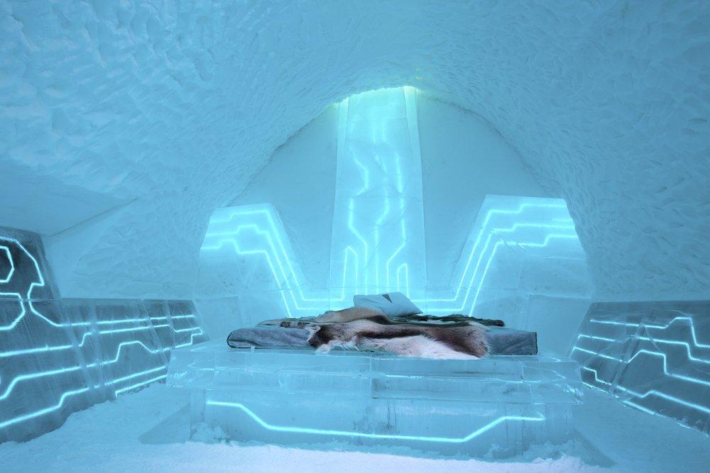 Icehotel in Jukkasjärvi, Sweden