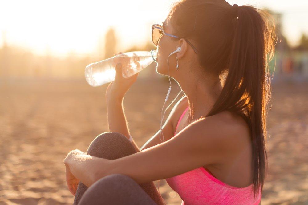 drinking water healthier skin