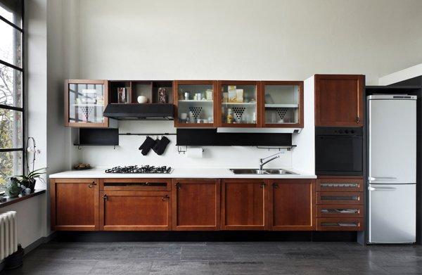 Kitchen Design - Single Line Kitchen Layout