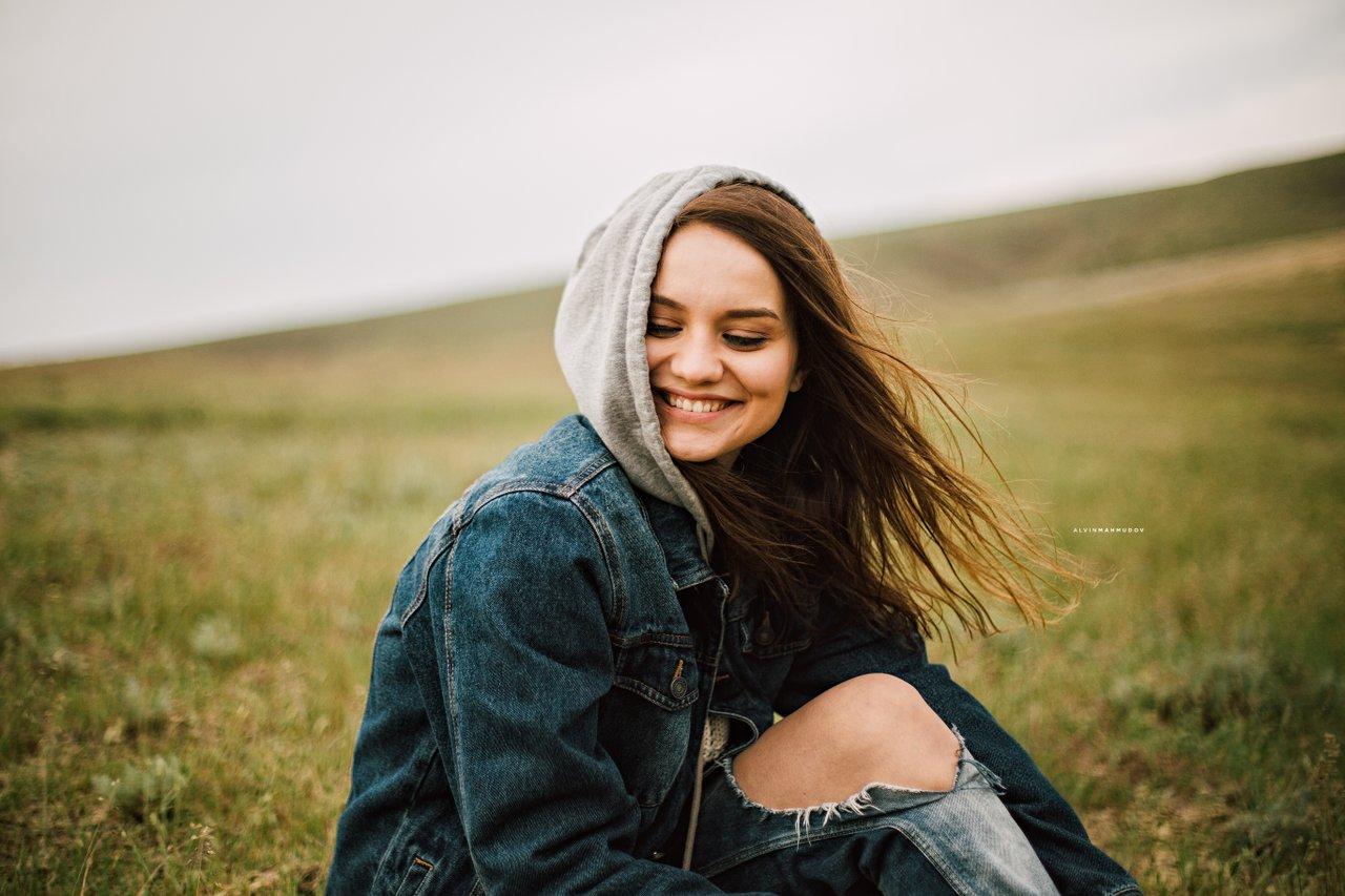 smiling happy teen