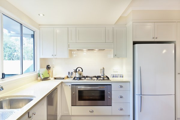 Kitchen Design - Sink, Cooker, Fridge