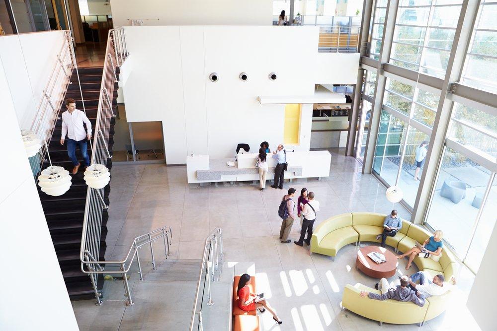 office design wayfinding facilities management