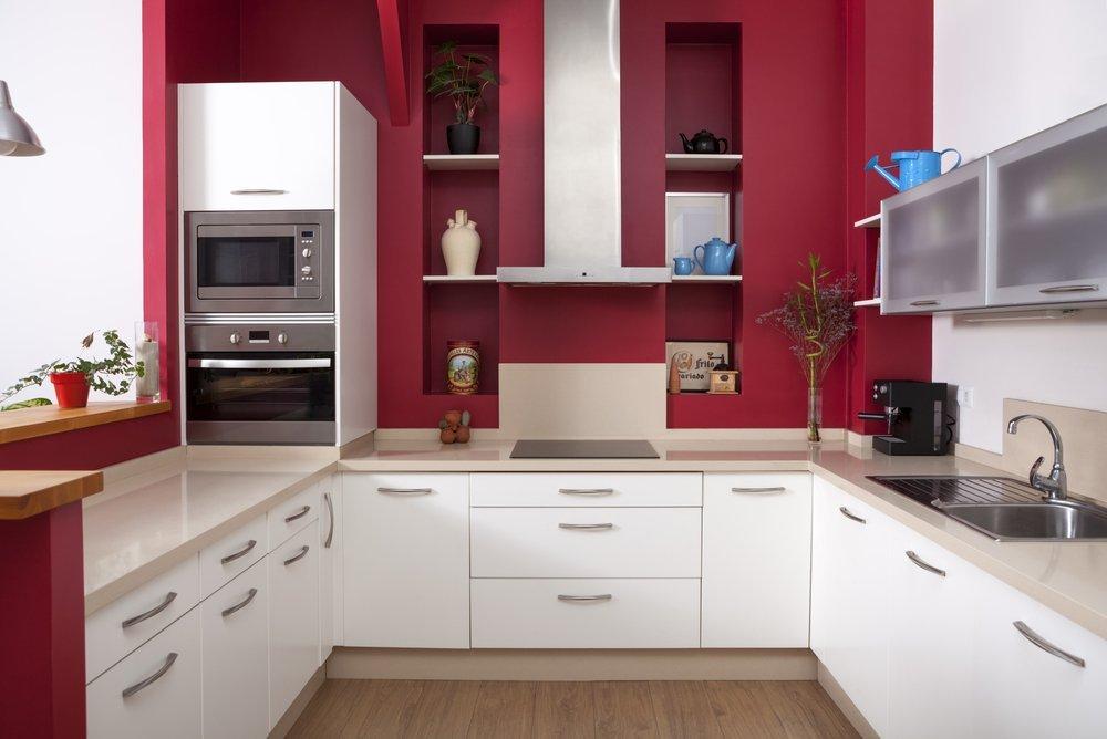 Kitchen Design - U-Shaped Kitchen Layout