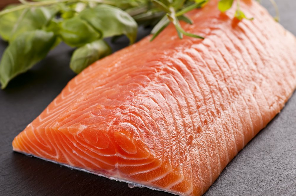 salmon healthy food