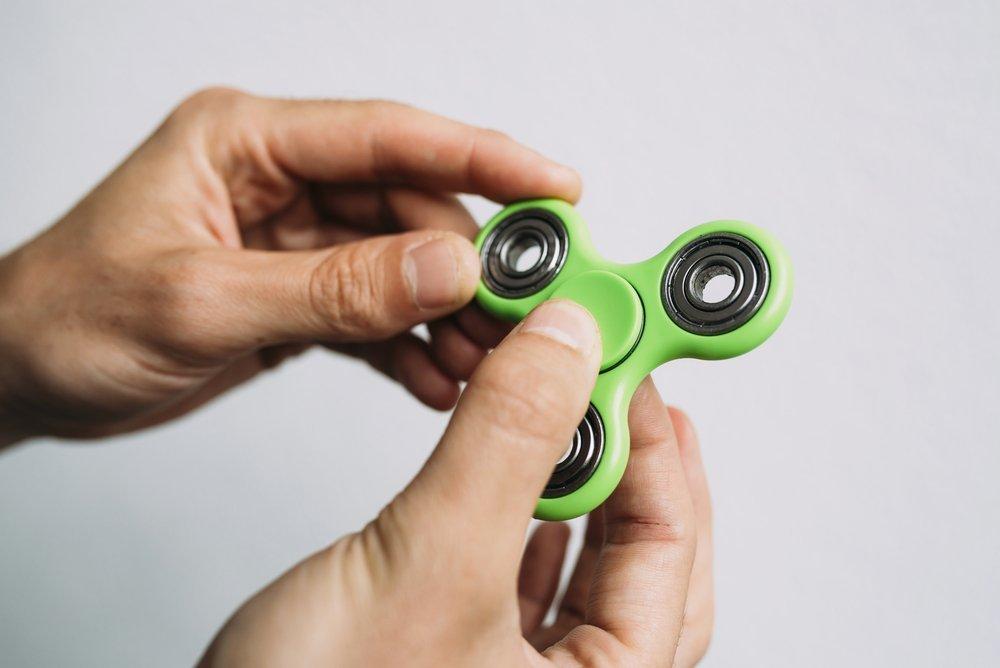 Fidget spinner trend