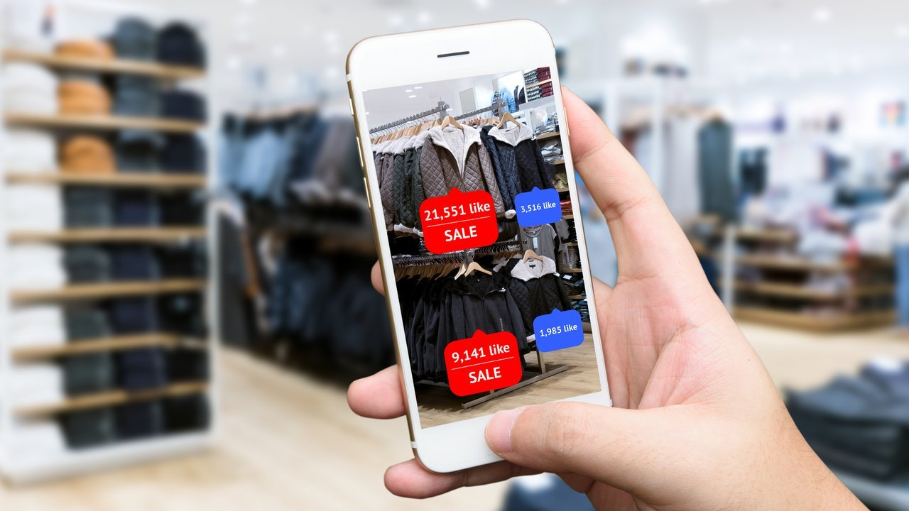 Interactive shopping app