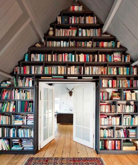 5 Creative Ways To Display Books Quietly