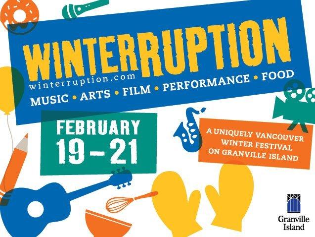 Winterruption Festival On Granville Island