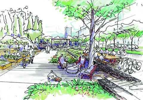 Greening Of Southwest Bike Path >> Arbutus Greenway City Of Vancouver