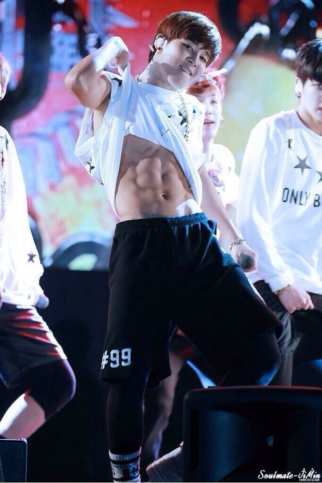 14 Heart Stopping Times Bts Jimin Revealed His Abs Quietly