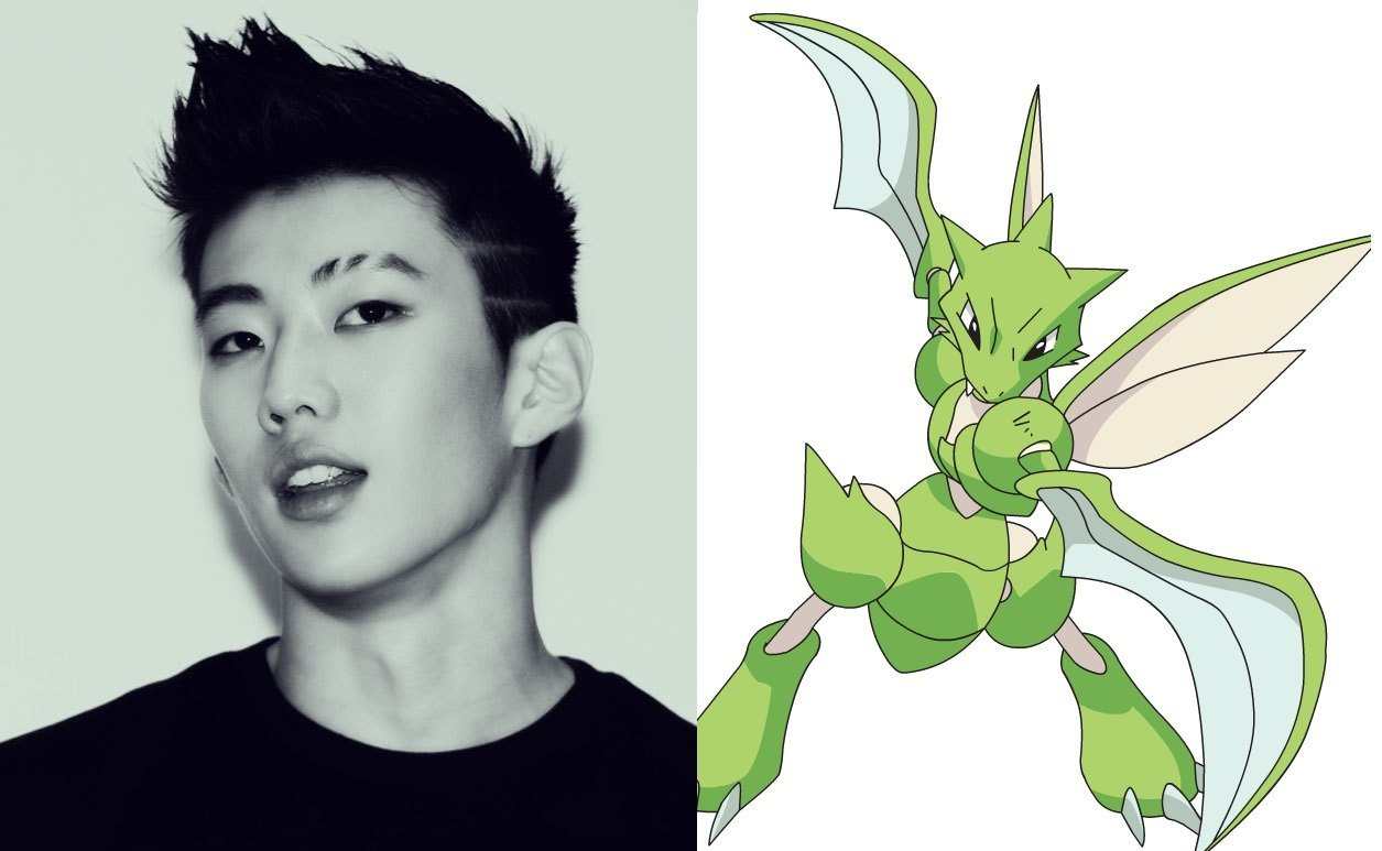 Image result for jay park and scyther
