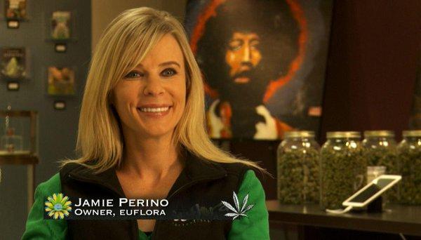 Jamie Perino weed women