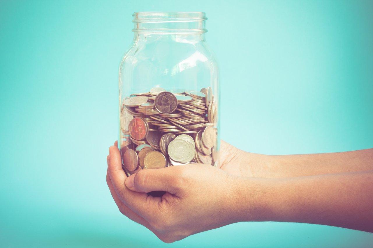 jar coins savings