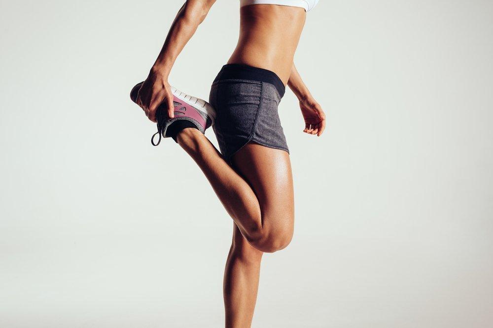 jogging PMS cramp relief