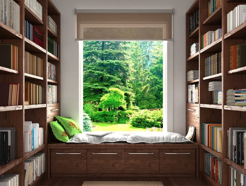 Library and Reading Nook