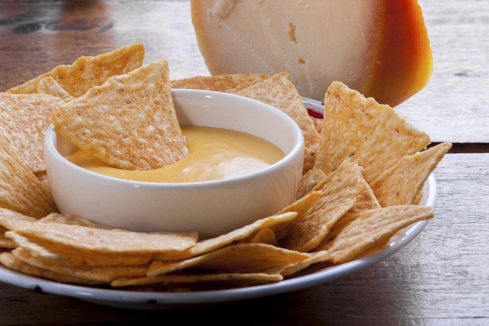 Lightened-Up Cheese Sauce Football Sunday