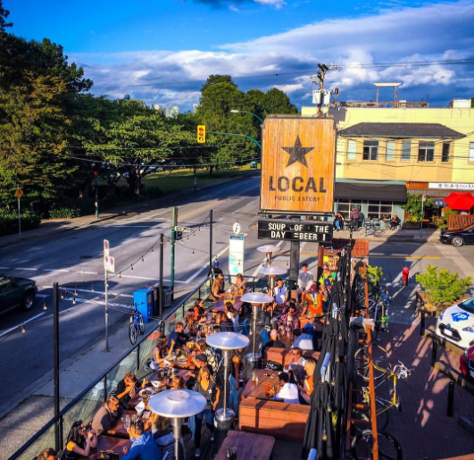 Local Public Eatery Best Vancouver patios