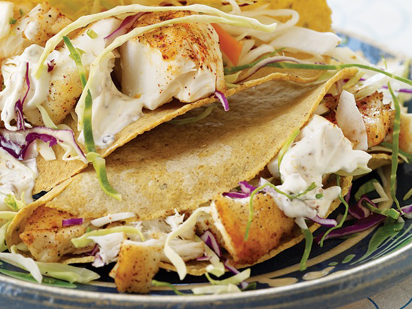 Low Calorie Baja Fish Taco Recipe