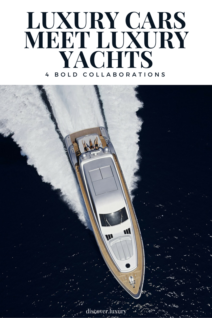 Luxury Car and Luxury Yacht Collaboration