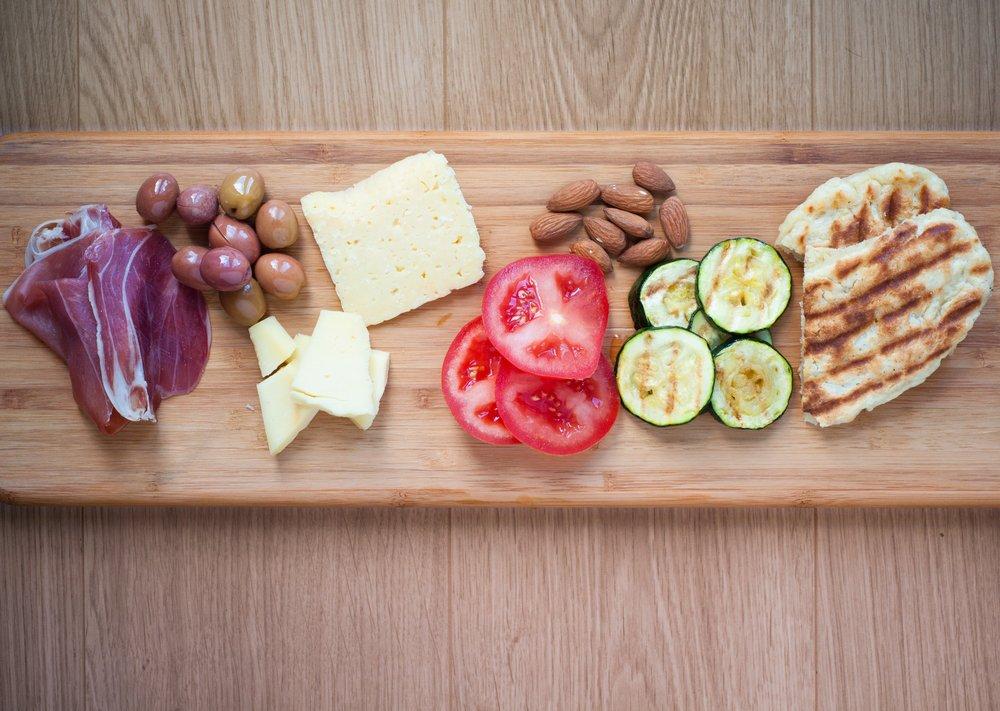 meal planning ingredient separate