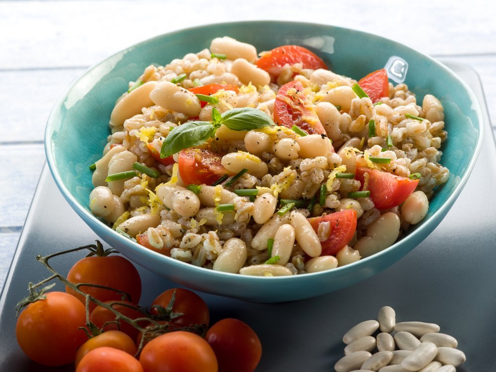 How to prep a weeks worth of mediterranean meals nuts mediterranean pasta dish forumfinder Image collections