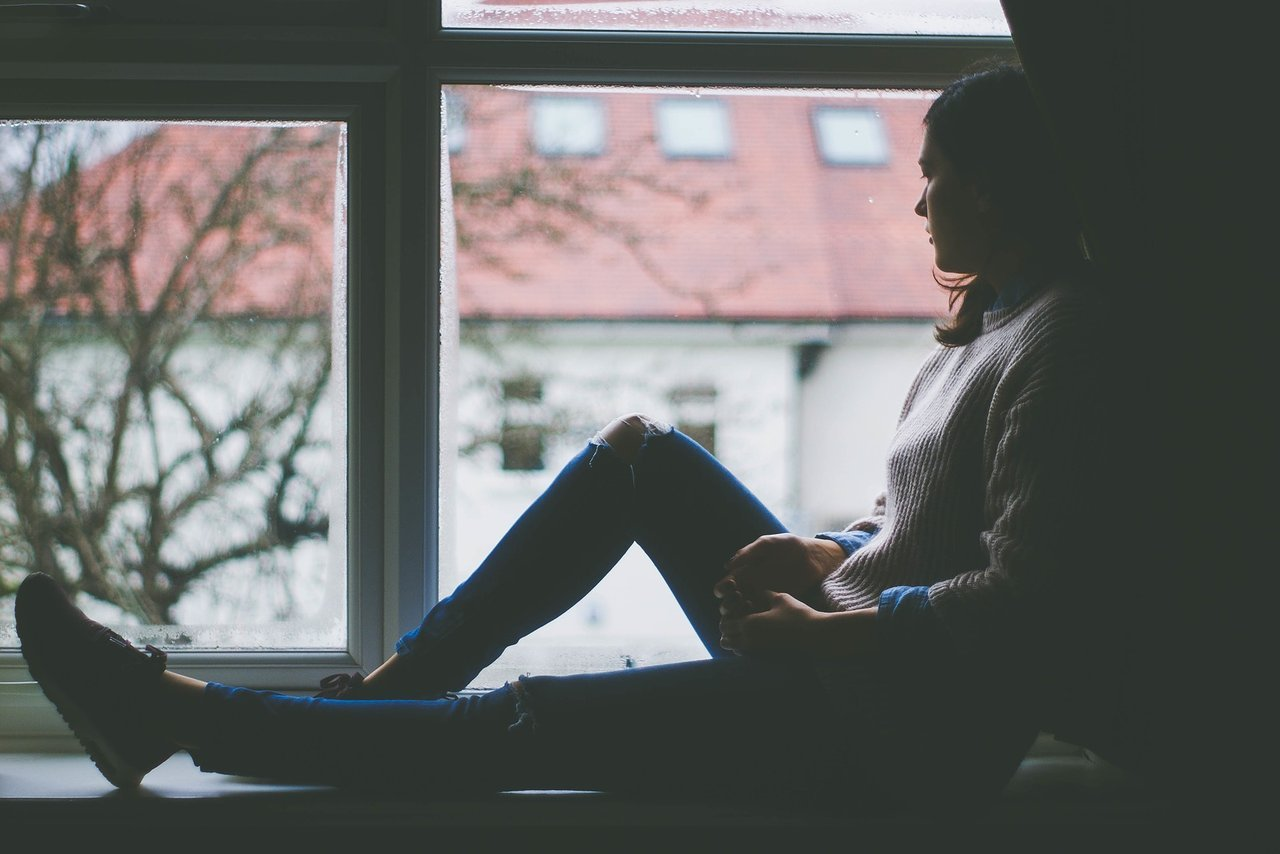 Mental Health Teen Looking Out Window
