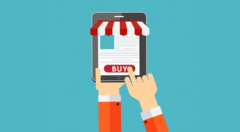 Buying from a tablet