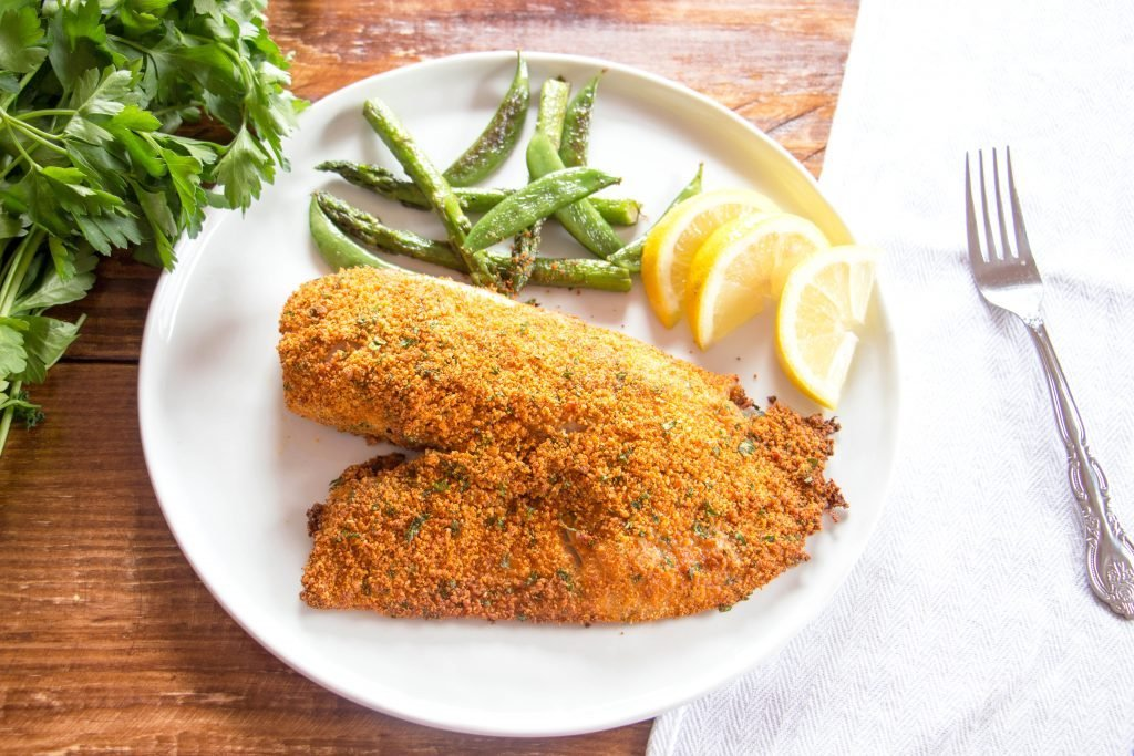 parmesan breaded baked tilapia