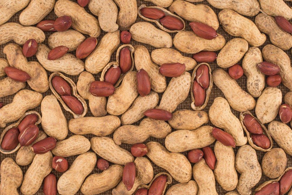 peanut healthy skin