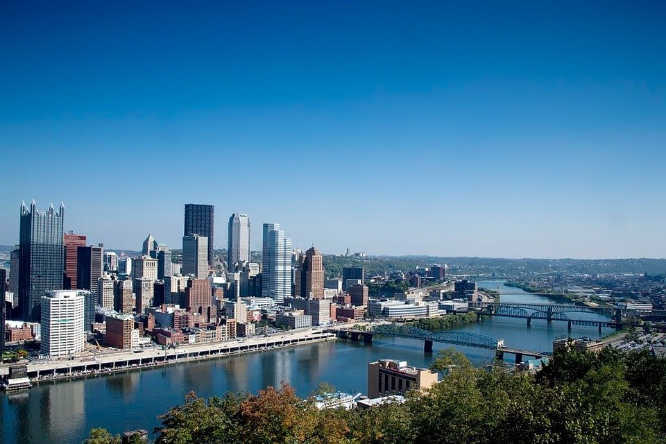 Pittsburgh city river