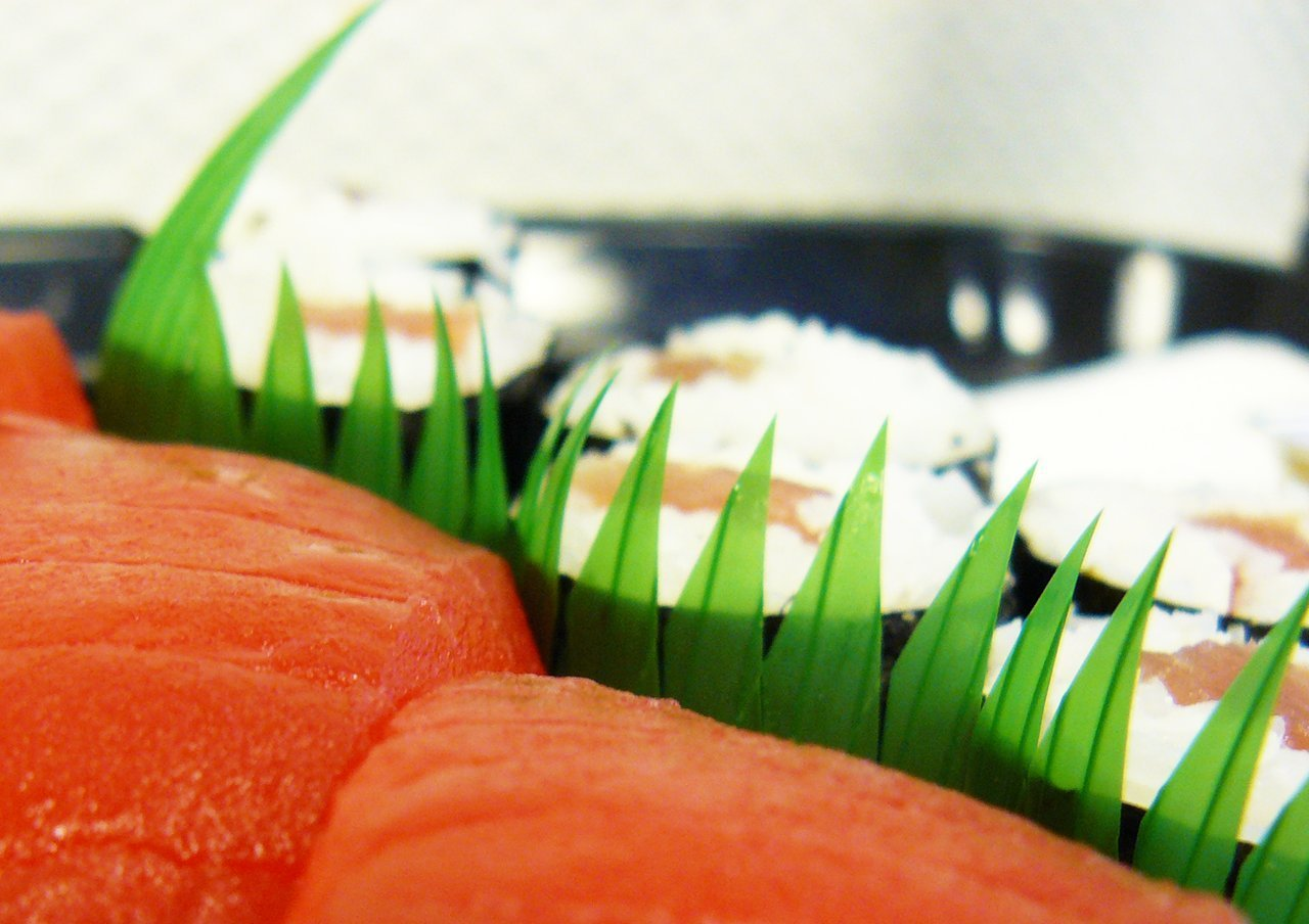 Plastic sushi divider Facts about sushi
