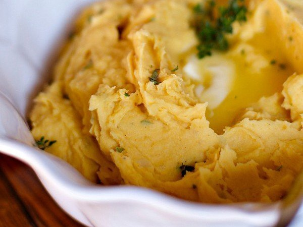 Pumpkin Mashed Potatoes Side Dish Recipe