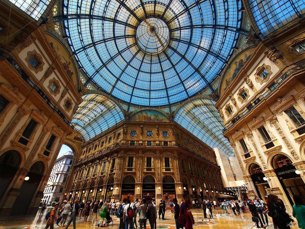 Quadrilatero d'Oro in Milan