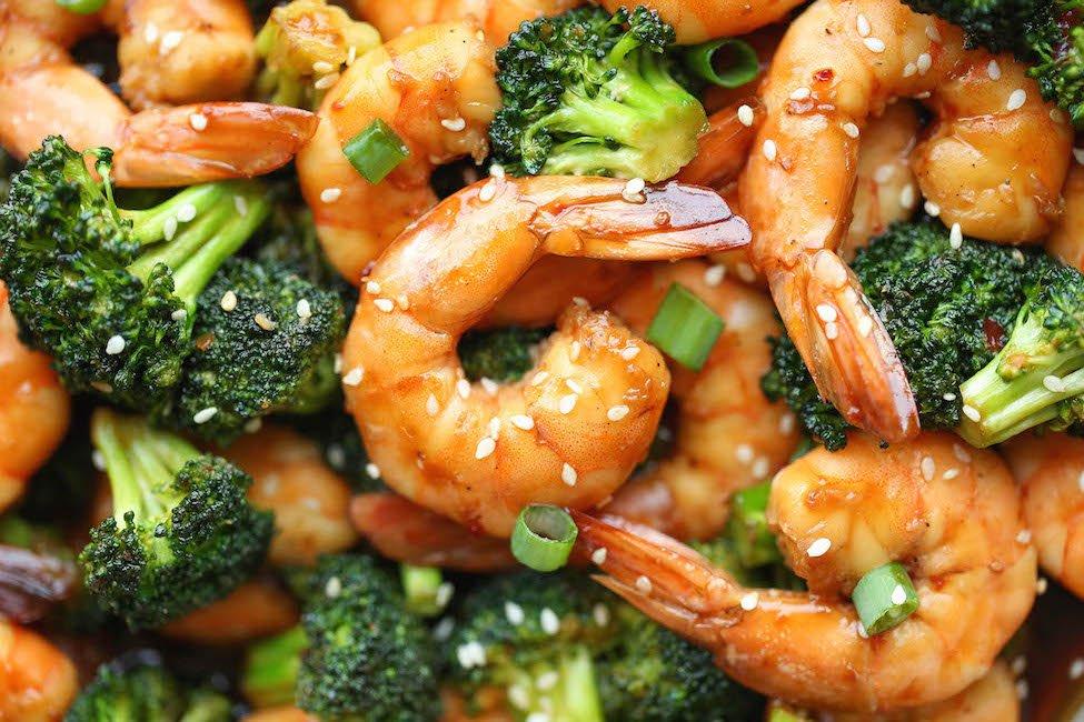 shrimp stir fry healthy easy meal