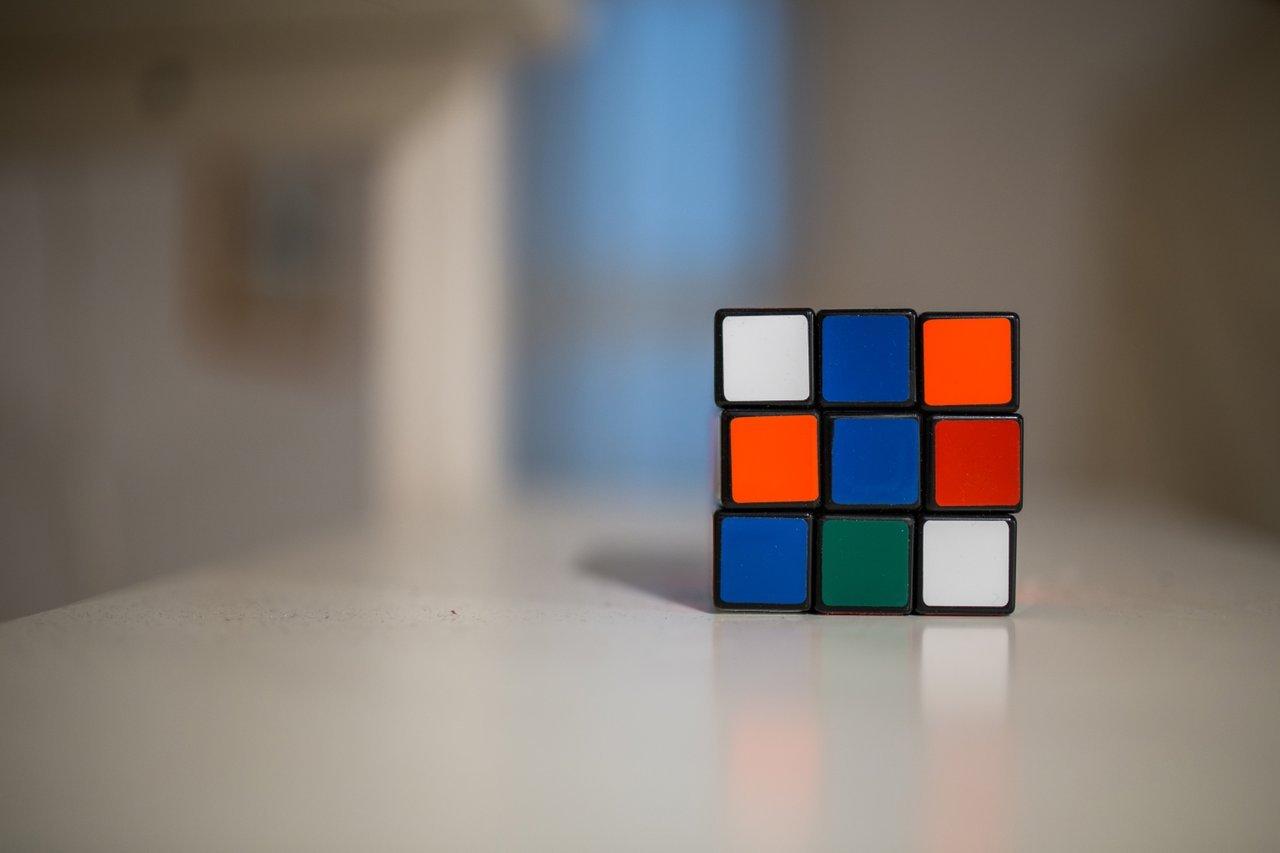 Rubik's cube office