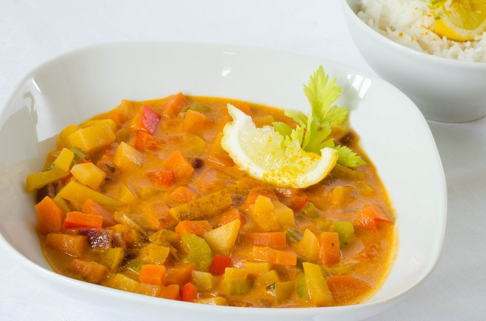 Rutabaga (swede) curry