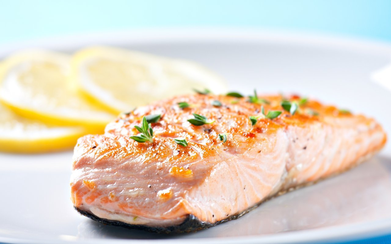Salmon is a delicious source of lean protein and healthy unsaturated fats.