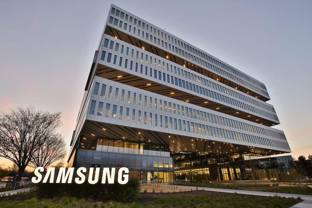 Samsung building in San Jose