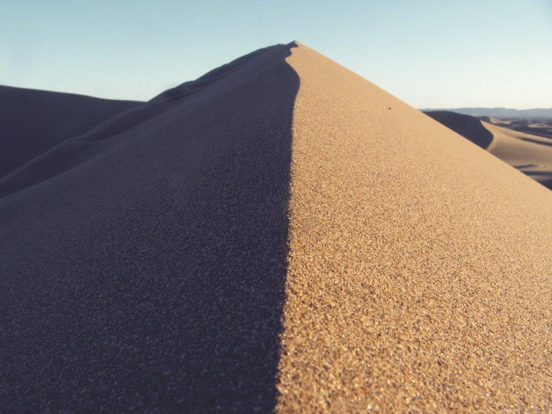 sand pyramid desert