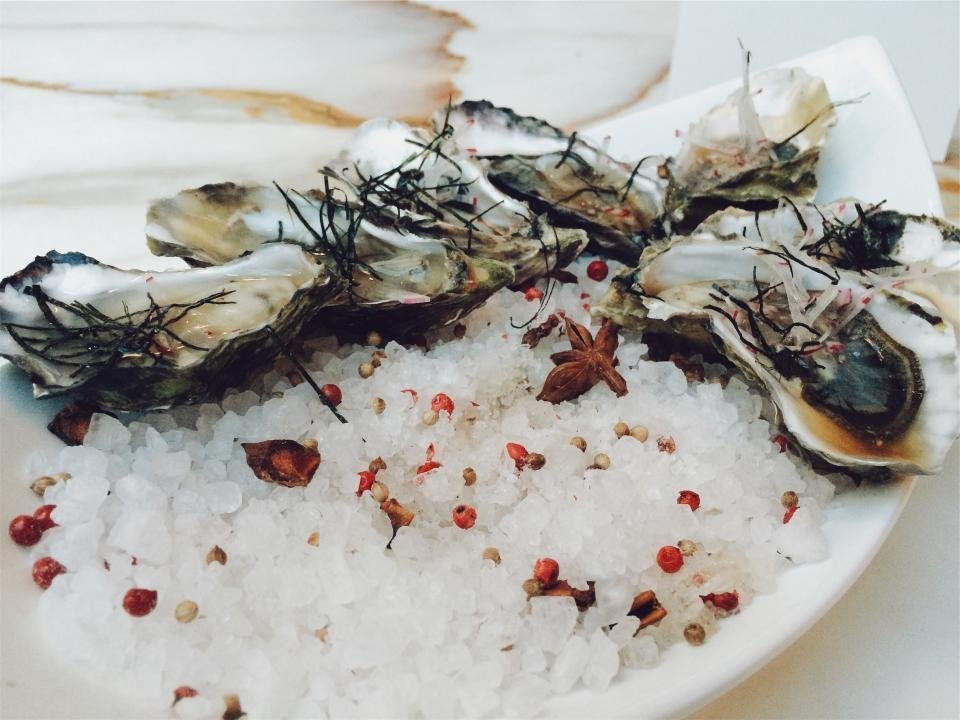 Oysters seafood drink pairing healthy