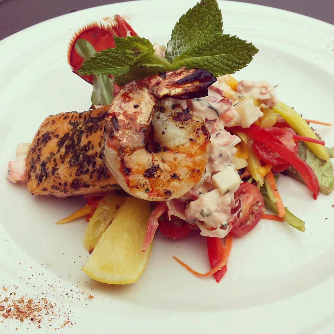Seafood Salad at Trattoria Timone Ristorante