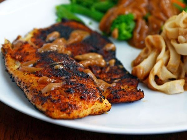 Spicy Blackened Tilapia Protein Rich Recipe