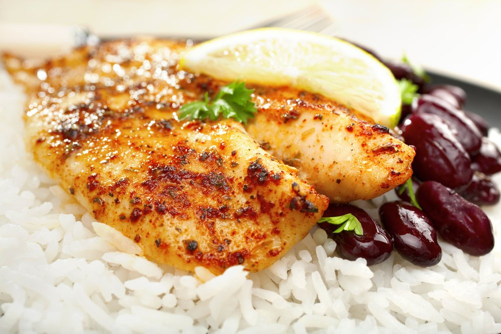 Spicy Louisiana Creole Baked Tilapia
