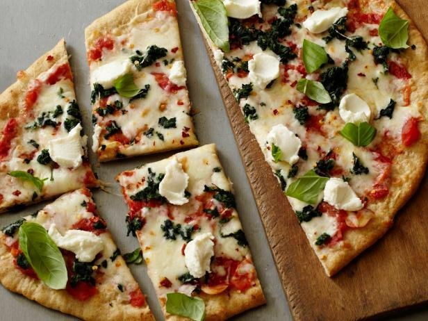 Spinach Ricotta Pizza Healthy Comfort Food