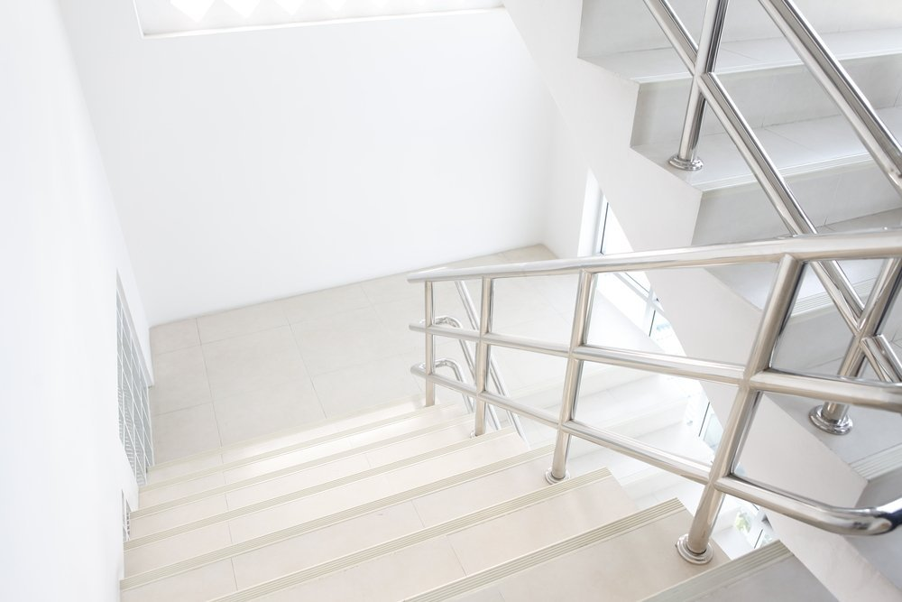 stairwell staircase building modern