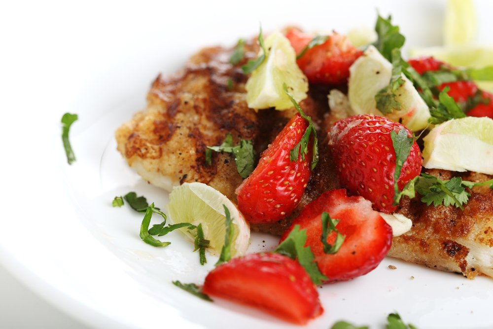 strawberry fish tacos recipes healthy