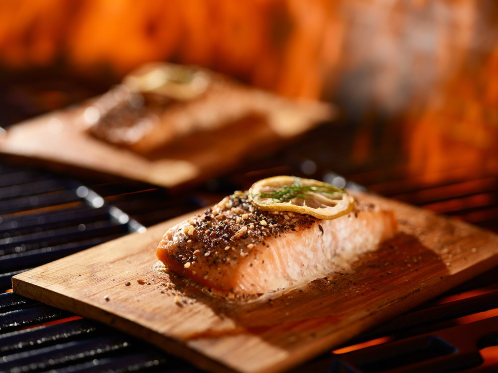 4 summer friendly cedar plank fish recipes the healthy fish for How to cook fish on the grill