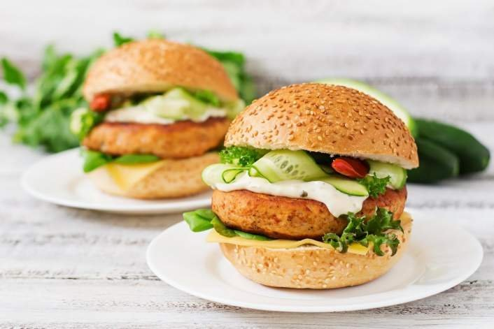 Tilapia Fish Burger