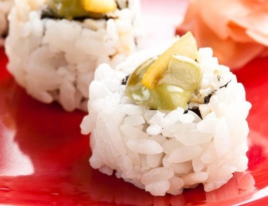 Honey-Lemon Green Tea Tilapia Roll